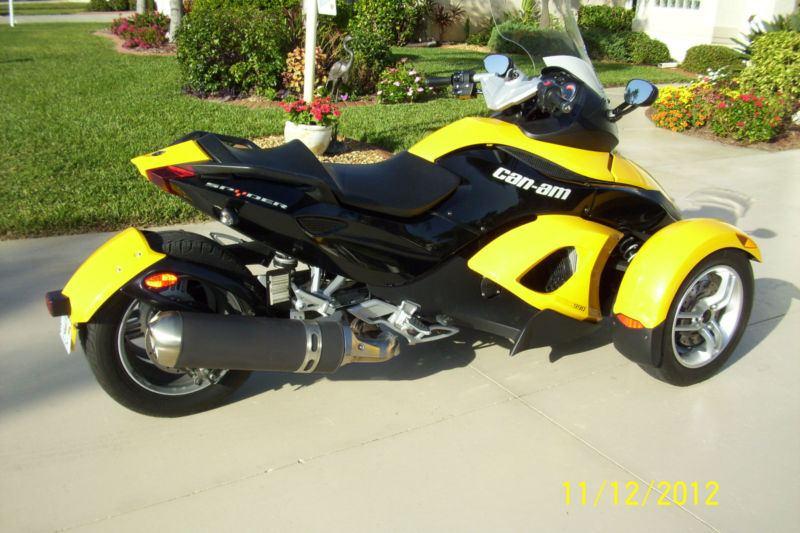 2008 can am spyder sport touring se5 naples motorcycles for sale used motorcycles for sale. Black Bedroom Furniture Sets. Home Design Ideas
